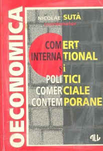 Nicolae Suta, International trade and contemporary commercial policies, Cover