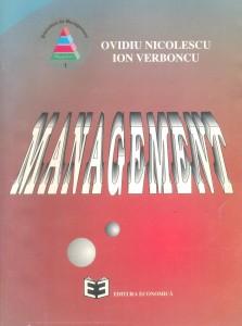 Ovidiu Nicolescu, Ion Verboncu, Management, Cover
