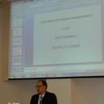 """1.""""Welcome speech"""" given by Professor Virgil Popa"""