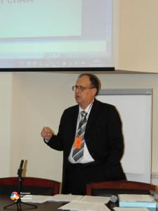 7. Virgil Popa presenting