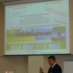 9. Theodor Valentin Purcarea presenting