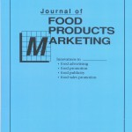 "1.""Journal of Food Products Marketing,"" Volume 19, Issue 2, 2013, published by Routledge"