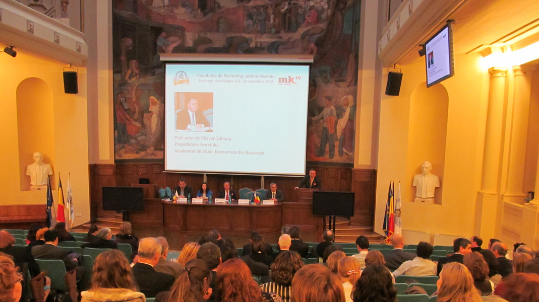 2. Professor Razvan Zaharia, President of the Senate of the Bucharest University of Economic Studies