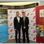 Razvan Nacea (former RAU Student) and Matei Purcarea (current RAU Student)