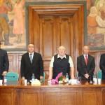 Prezidiu Eveniment Lansare Carte Prof. Iacob   Catoiu