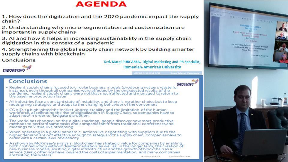 Guest Speaker, Drd. Matei PURCAREA, Digital Marketing and PR Specialist, Romanian-American University
