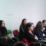 Participants in the Workshop debate