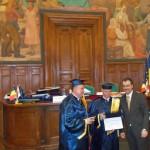 3.Professor Răzvan Zaharia, Rector Pavel Năstase, and Rector Ovidiu Folcuț