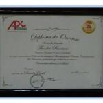 4. Diploma of Honor, Theodor Purcarea