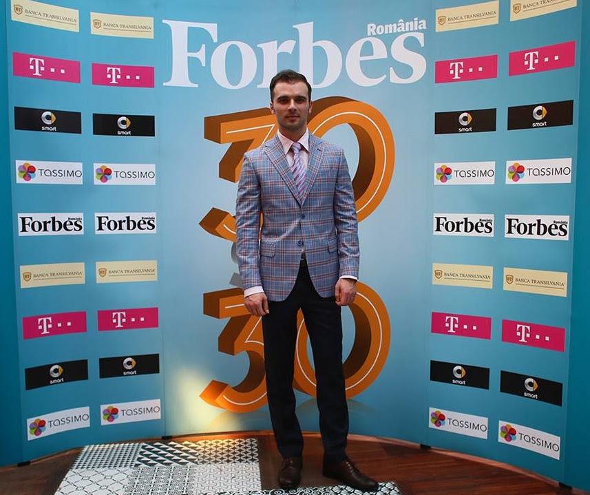 1. Razvan Andrei Nacea, Forbes 30 Under 30
